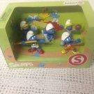 NEW Schleich Smurfs PVC Figures In Box Sports Swimmer Smurfette Beach Ball