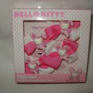 Hello Kitty Bunny Hair Set with Bobby Pins and Snap Clips New NIP