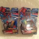 NEW Lot Amazing Spiderman Concept Series Night Mission & Web Cannon Figures