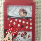 NEW 3 Pk Minnie Mouse Red Toddler Girls Panties Underwear 4T