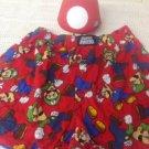 Super Mario Brothers Men's Sleep Shorts Boxers Nintendo M Coin Bank Mushroom