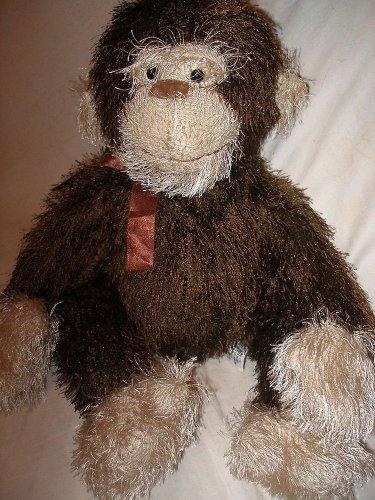 Tri Russ Intl plush stuffed brown monkey