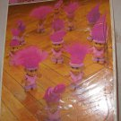 1992 Golden Russ Trolls frame tray puzzle exercise class Purple