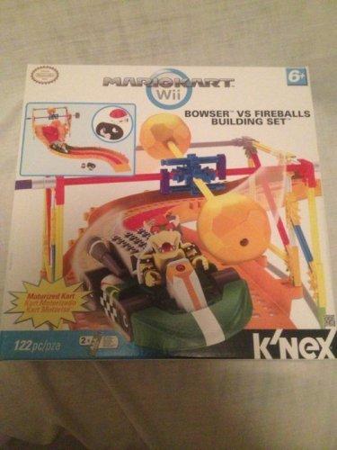 Knex Mariokart Wii Bowser VS Fireballs Building Set Mario Building Playset