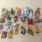 Lot Toys Genie Dwarf Hercules Aladdin Pete's Dragon Robin Hood 101 Dalmatians