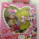 NEW I Love Minnie Mouse Pajama Party Set Flexible Doll W/ Outfit Famosa Purple