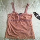 Biyaycda NWT Pink Lace Sleeveless Tank Top Dress Clubwear Womens Small