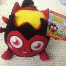 NEW Moshi Monsters Plush Stuffed Toy Diavlo W/ Secret Code