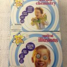 Lot Slinky Fun Labs Kitchen Chemistry Optical Illusions Educational Learning Kit