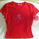 2004 Target Love So Sweet Womens Misses Medium Red Love Tshirt NWT