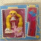 Mini Lalaloopsy Loopy Hair Spot Splatter Splash Doll Style Hair W/ Comb & Clips