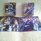Star Wars Clone Wars Cardinal Puzzle Lot 2 Complete 48 Pz Each Anakin Trooper