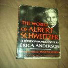 Book World Albert Schweitzer By Anderson + Photo & Newspaper Clippings
