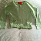 Liz Claiborne Womens Misses Small S Light Lime Green Jacket Coat