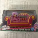 NEW Girl Lalaloopsy Alarm Clock Radio Pink Sofa W/ Doll