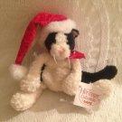 """8"""" Ganz Heritage Collection Li'l Domino Plush Stuffed Santa Kitty Cat W/ Tag"""