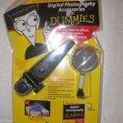 Digital Photography Dummies set book, tissue, brush, mini tripod, clean fluid