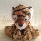 "9"" Long Fiesta Sitting Bean Bag Tiger Jungle Cubs Plush Stuffed Toy"