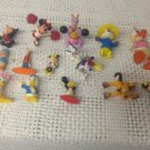 Lot PVC Toys Minnie Mickey Mouse Figment Pluto Goofy Donald Daisy Duck Chip