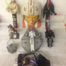 Lot Star Wars Toys Darth Maul Millenium Falcoln C3-PO Qui-gon Jinn Clone R2-D2