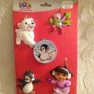 New Nickelodeon Dora Explorer Christmas Ornaments Boots Penguin Polar Bear