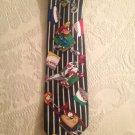 Men's Tie Looney Tunes Mania Baseball Bugs Bunny Taz Daffy Duck Sylvester Cat