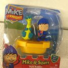 NEW Fisher-Price Mike Knight Mike & Squirt Bath Buddies Squirter Floating Boat