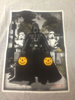 NEW Boys M Darth Vader Stormtrooper T-Shirt Halloween Trick Or Treat