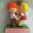 VTG 1971 Berries Love Can Fill A Heart With Joy Plastic Gift Figurine