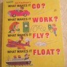 Joe Kaufmans Golden Book What Makes It Go Work Fly Float? 1971