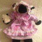 "Rare HTF 12"" Ganz Bros. Heritage Collection Plush Stuffed Easter Lamb Purple"