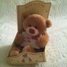 "5"" Gund NEW Thinking Of You Letter Plush Stuffed Bear"