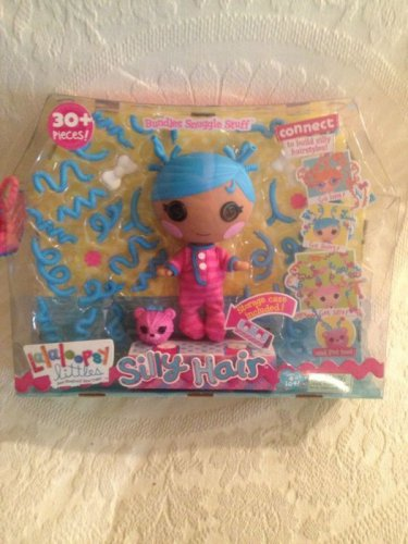 NEW Lalaloopsy Littles Silly Hair Bundles Snuggle Stuff Doll Build Hairstyle