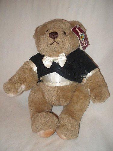 Vintage 11� 1980�s Gund Bialoky & Friends plush brown teddy bear stuffed w/ tag