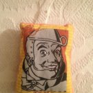 Rare Window Pals Pillow Wizard Of Oz Tin Man With Suction Cup Attachment