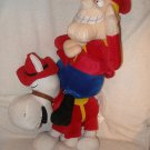 Set 2 large 1999 CVS Exclusive plush Dudley Do Right & horse Rocky Bullwinkle