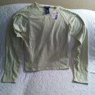 NWT SO GSJC Juniors Stretch Tee Shirt Sz Large Light Mint Green SOFT!