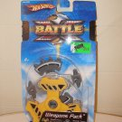 Unopened Hot Wheels Battle X Weapons Pack 2004 Rare