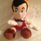 "11"" VTG Pinocchio Stuffed Plush Doll Disneyland Walt Disney World Park"
