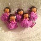 NWT Lot 5 Dora Explorer Bath Water Squirter Loofah Party Favors