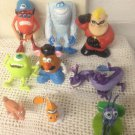 Lot Disney Pixar Toys Monsters Inc. Finding Nemo Toy Story Bugs Life Incredibles