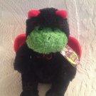 "6"" Gund Hocus-Pocus Boo Spooky Surprises Frog Dressed As Bat Plush W/ Tag"