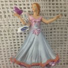 """Papo Fairy Blue With Butterfly Figure 4"""" Glitter Model"""