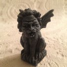 "3 1/2"" Ceramic World Inc. Lion Like Gargoyle Medieval Incense Holder Figurine"