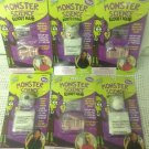 NEW Lot 6 Monster Science Magic Grow Bloody Eyeball & Hand Party Favor Halloween