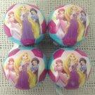 "3 1/2"" Mini Franklin Disney Princess Soft Play Soccer Ball Lot Party Favor"