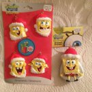 New Lot Nickelodeon Spongebob Christmas Ornaments W/ Gary Snail