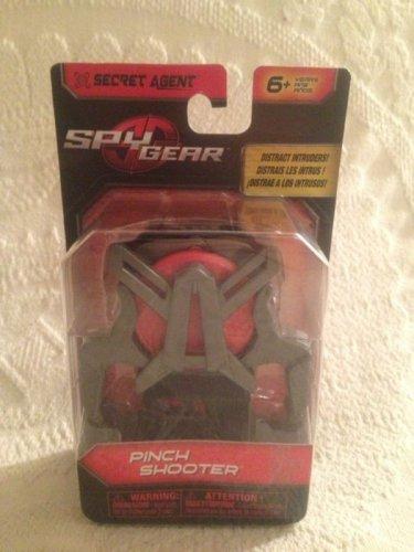 Spy Gear Micro Agent Pinch Foam 3 Disc Shooter Secret Agent Kids Toy