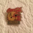 Vintage NFL Football Collector Pins Coca Cola Houston Oilers Communicorp