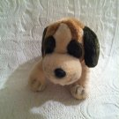 "Russ 12"" Long St Bernard Plush Stuffed Beanie Dog EUC"